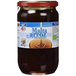 Malta de arroz elaborada siguiendo el método tradicional el cual permite obtener una malta más rica en proteínas, minerales y a