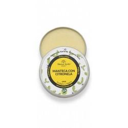 La Manteca con Citronela es una de las imprescindibles en verano por sus funciones 3 en 1  1. Cuida la piel: hidrata, nutre,