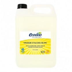 Vinagre blanco de alcohol Ecodoo 5 litros ECODOO  Vinagre blanco, 12% de acidez, de la gama vinagre de Ecodoo, con certifica