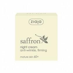 Crema de noche antiarrugas con colágeno para todo tipo de pieles maduras 60+  Contiene ingredientes activos que estimulan el