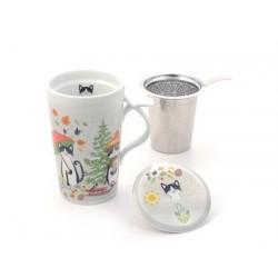 "Jumbo-Herb Tea Mug ""Maro"" porcelain"
