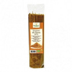 Ingredientes: Sémola de TRIGO calidad superior * (88%), quinoa * (10%), curry *, cúrcuma *.* De agricultura ecológica  Alérgen