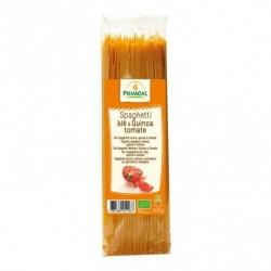Ingredientes: Sémola de TRIGO * (83.5%), quinoa * (10%), tomate * (6%), ajo *.* De agricultura ecológica  Alérgenos: Gluten Tr