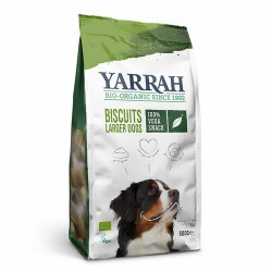 Sabrosas galletas vegetarianas / veganas. Debido al tamaño de la galleta, son ideales para perros grandes, pero también se pued
