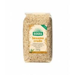 Las semillas de sésamo crudo aportan calcio y hierro, así como beneficiosos ácidos grasos poliinsaturados, que hacen de esta se