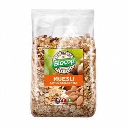 Ingredientes: Copos de CEBADA* 29,3%, copos de TRIGO malteado* 24,4%, copos de AVENA Jumbo* 19,5%, pasas sultanas* 19,5%, semil