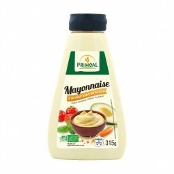 Ingredientes: Aceite de girasol ** (70%), agua, yemas de HUEVO *, vinagre de sidra **, MOSTAZA * 6% Dijon (agua, semillas de MO