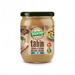 """Ingredientes: """"Semillas de SESAMO integrales* (83,7%), semillas de SESAMO decorticadas (15%)*, sal. *De agricultura Biológica"""""""