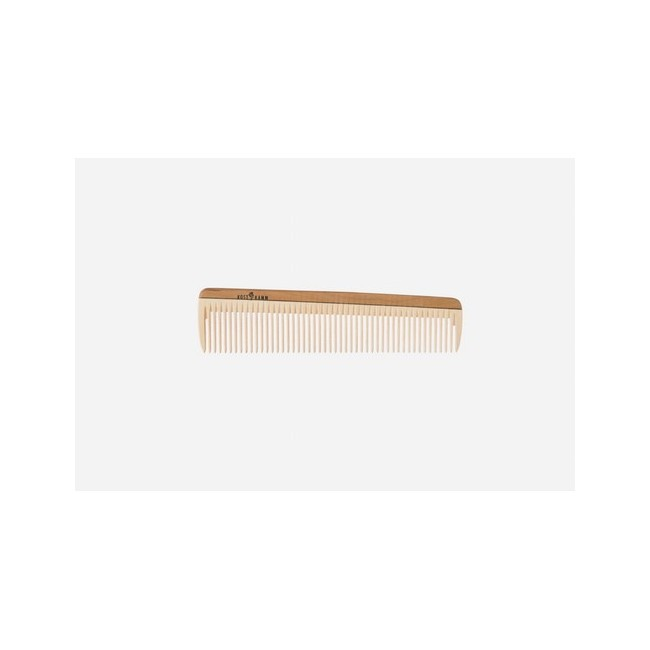 Peine de peluquería, madera, mediana, 18 cm. Idoneidad: cabello medio largo, liso u ondulado. Largo: 18 cm.