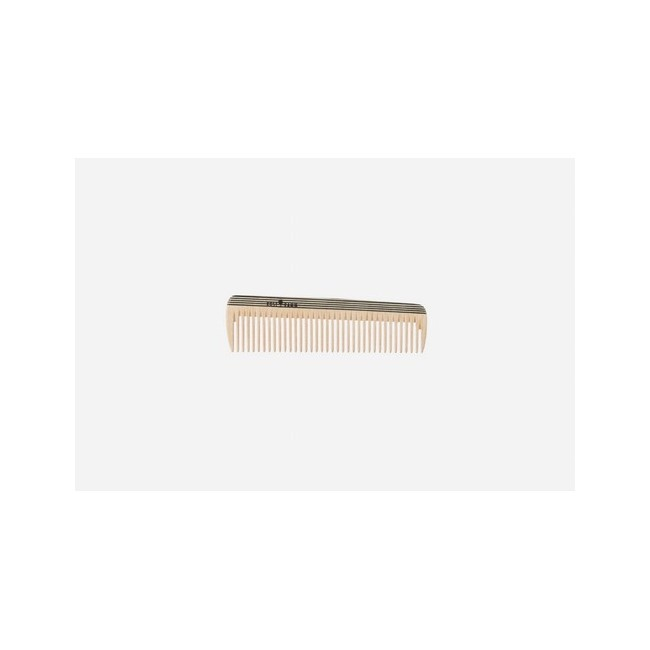 Peineta de bolsillo, madera, multicolor, mediana, 14 cm. Idoneidad: cabello medio largo, liso u ondulado. Largo: 14 cm.