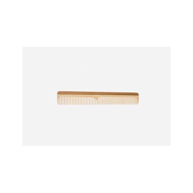 Peine para cortar el pelo, madera especial, 19 cm, cortador delgado, perfil extra fino, medio-fino, 19 cm Idoneidad: pelo cort