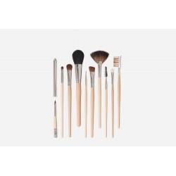 Set de pinceles cosméticos, 10 piezas Juego de cepillos cosméticos, compuesto por el artículo no. 9210, 9215, 9220, 9225, 9230