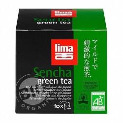 Té verde japonés, no fermentado, en bolsitas. Las hojas de sencha se cosechan desde finales de abril hasta mediados de mayo. De