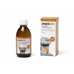 Por 30 ml: Miel milflores, propóleo (10 mg galangina/g) 360 mg, ES echinácea (Echinacea purpurea) 150 mg y vitaminas B1, B2, B