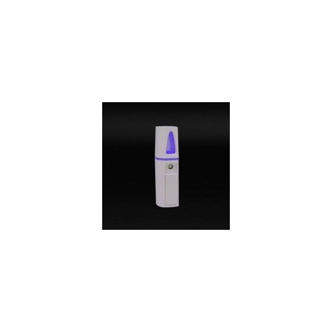 Mistilia es un difusor ultrasónico portátil de aceites esenciales y aguas florales.  Gracias a su funcionamiento con batería