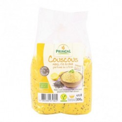 Ingredientes: Harina de maíz * y Harina de arroz* (66.3%), (28.4%), semillas de chía negra * (Salvia hispanica) (3%), sal marin