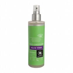 Acondicionador en spray de aloe vera. Se aplica directamente sobre el cabello húmedo o mojado, después del lavado. No necesita