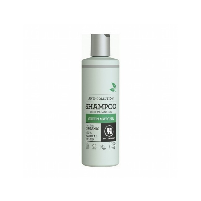 Champú matcha Para todo tipo de cabello Siguiendo una fórmula con antioxidantes de matcha verde japonés, ácido hialurónico y ex