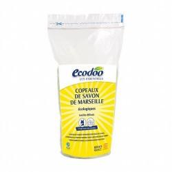 Virutas de jabón de Marsella con ingredientes superiores al 30%, sin ningún aditivo de aceite de palma, de cocción en caldera.