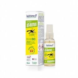 El aerosol para mosquitos actúa como repelente para mosquitos en áreas infestadas, templadas y tropicales. Su eficacia se prueb