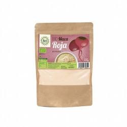 Ingredientes: Maca* Roja en Polvo.  * Ingredientes de la agricultura ecológica     Información Nutricional (100 g):  Va