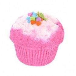 Disfruta de un baño delicioso con el muffin efervescente Freaking Fuchsia de Treets Bubble.  Modo de empleo: dejar caer la bo