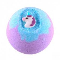 Disfruta de un baño de fantasía con la bomba Bubbly Unicorn de Treets Bubble.  Modo de empleo: dejar caer la bomba suavemente