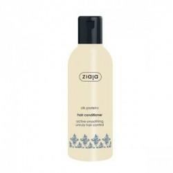 Acondicionador Capilar Alisador con Proteínas de Seda  Especialmente indicado para cabellos secos, ásperos y sin brillo.  H