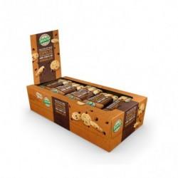 Galleta de espelta con chips de chocolate Biocop 32 g Ingredientes: Harina de TRIGO ESPELTA* 55%, aceite de semillas de giraso