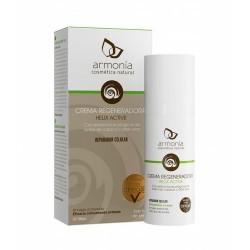 Crema regeneradora a base de extracto de baba de caracol ecológica certificada rica en alantoina, colágeno, elastina y otros mi