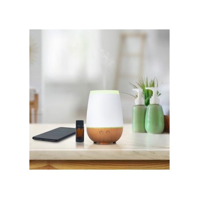 Musilia: difusor ultrasónico Referencia: 2165  Musilia reúne la difusión de aromas y la música en un solo dispositivo.  Eq