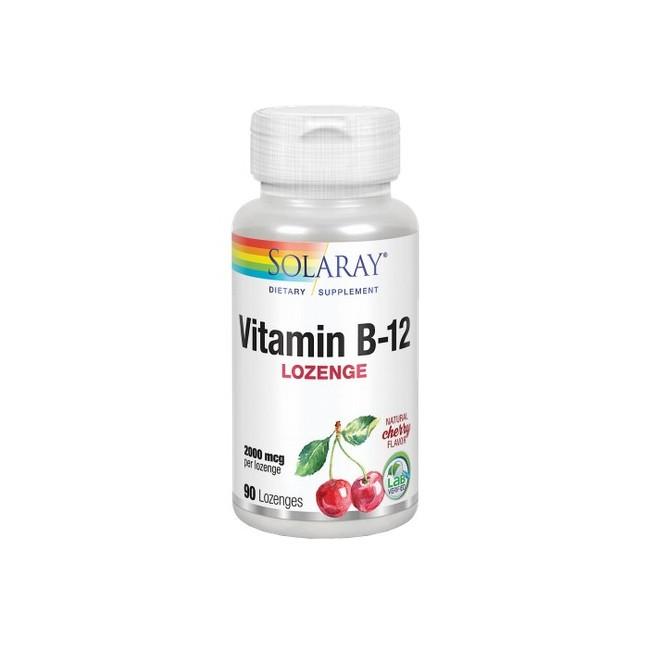Vitamin B-12 2000 Mcg - 90 Comprimidos Sublinguales. Sin Gluten. Apto Para Veganos. REF.4350 Fórmula balanceada con ácido fól