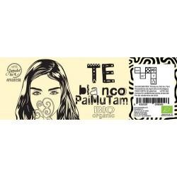 Ingredientes: Te blanco Pai Mu Tam. Procedentes de la Agricultura Ecologica.