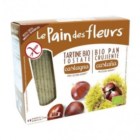 LE PAIN DE  Cracker crujiente con castaña Fuente de fibra Sin azúcares añadidos Contiene azúcares naturalmente presentes Prod