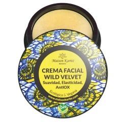 La Crema Facial WildVelvet está recomendada para las pieles jóvenes, mixtas,  combinadas o de tendencia acnéica. Aporta equilib