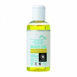 4518 Aceite corporal Baby no perfume Urtekram 100 ml URTEKRAM  Aceite corporal sin perfume para bebés y multiuso. Una mezcla