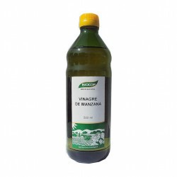 BIOCOP  Vinagre natural de sidra con una filtración ligera necesaria para eliminar las bacterias que pueden estar todavía en