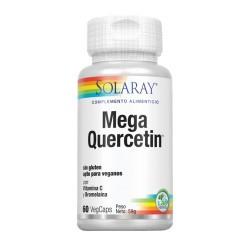 Mega Quercetin™- 60 VegCaps. Sin Gluten. Apto Para Veganos REF.44686 CONTENIDO MEDIO (POR VEGCAP) Quercetin dihidrato  600