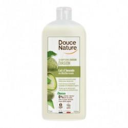 Champú gel para la higiene del cuerpo y cabello Con leche de almendras de propiedades suavizantes y calmantes Sin sulfatos Sin
