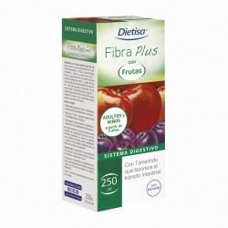 CARACTERÍSTICAS Dietisa® Fibra Plus con Frutas es un complemento alimenticio a base de plantas, fibra y concentrados de fruta.