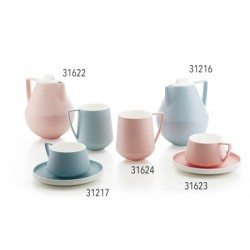 "COD 31216 Tetera ""Sanna"" porcelana de magnesio, azul claro 1,0 l"
