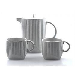 """Set de té """"Jonte"""" cerámica, 3 piezas tetera: 0.75 l; taza: 0.25 l"""