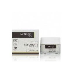 CREMA FACIAL HIDRATANTE PIELES SENSIBLES LABNATUR BIO.  La Crema Facial hidratante ayuda a hidratar, regenerar y nutrir la pi