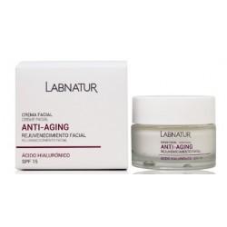 La Crema Facial de AH Labnatur proporciona a la piel una hidratación profunda y equilibra la pérdida de humedad. Como resultado