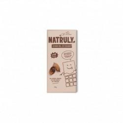 sin gluten sin azucares anadidos sin edulcorantes sin tonterias Pasta de cacao (65%) Fibra de achicoria (26%) Cacao desgr