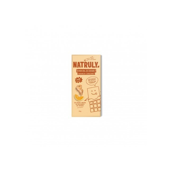 sin gluten sin azucares anadidos sin edulcorantes sin tonterias Pasta de Cacao (61%) Fibra de Achicoria (24%) Naranja (6%