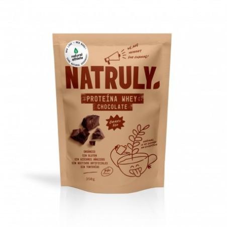 organica sin gluten sin azucares anadidos sin aditivos artificiales sin tonterias Proteína whey concentrada (86%) Cacao e