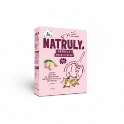 organica sin gluten sin azucar refinado sin aditivos artificiales sin tonterias Almendras (22%) Pasas (13%) Semillas de