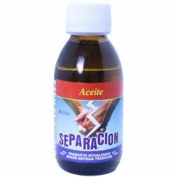 Aceite Separacion 125 ml  Este aceite se utiliza en rituales para desunir parejas, separar amistades o personas que no deben