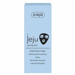 Mascarilla facial limpiadora negra, con alto contenido de carbono (1%)  Limpia los poros, elimina impurezas y el exceso de se